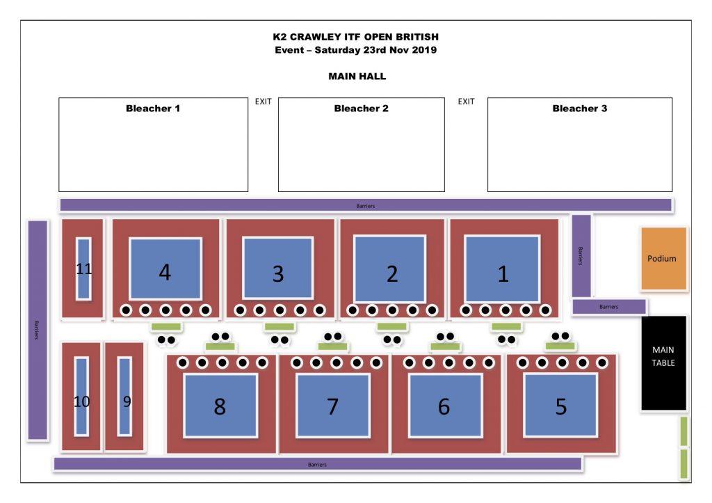 2019 Championships Floor Plan